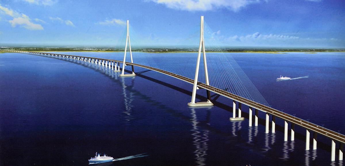 苏通大桥工程项目竣工档案专项验收会圆满结束